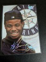 1993 Studio #96 Ken Griffey Jr. Seattle Mariners Foil Auto Signature