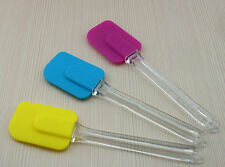Silicone Kitchen Cake Cream Spatula Mixing Scraper Brush Butter Baking Tool FF
