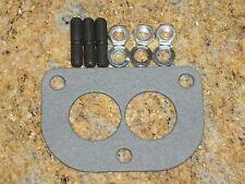 Stromberg 97 81 carburetor intake stud & gasket set Ford flathead D base 48 94