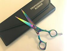 "5.5""Japanese StainlessSteel  Professional Hair Cutting Scissor With Case"