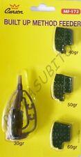 built method feeder kit pasturatore 4 pesi intercambiabili carpfishing ledgering