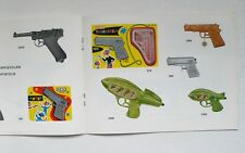 Vintage West Germany IDEAL Brand Toy Catalog 1964 Western Cowboys Space Toys