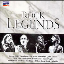 Rock Legends 2CD (Various Artists) Brand New Not Sealed