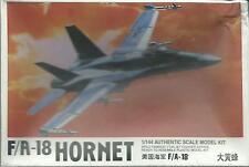 KIT LEE 1:144  AEREO IN PLASTICA DA MONTARE   F /A -18 HORNET   ART 02207