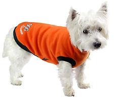 NEW (DGG) DOG GONE GORGEOUS ORANGE MEDIUM 37CM DOG JACKET/WARMIE/JUMPER/COAT