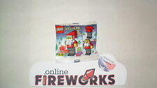 1997 Lego 2878 Exclusive Santa Claus Poly bag, New, Free Shipping, NISP