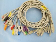 "EKG Lead Set, Cam 14/Mac 1200 to 10-Lead PINCH/Grabber, 51"" / 27""  - MLVE007CNA"