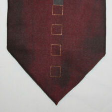 NEW Giorgio Brutini Silk Neck Tie Gradient Burgundy with Gray Pattern 545