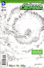 GREEN LANTERN #21 - New 52 - Sketch VARIANT Cover 1:25