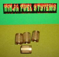 "Tappered Head 10 Pack Stromberg 97 2 Barrel Throttle Plate Screws 6-32x5//16/"""