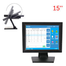 15''Touch Screen LED LCD Monitor 1024X768 Resolution HDMI VGA for POS Windows PC