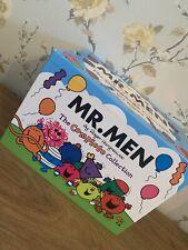 MR Men Complete Collection Books In Box. Bundle Library. 49 Books.