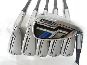 Used Adams Idea Iron Set 6-P,G Senior Flex Graphite Shafts