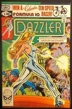 Marvel Comic book 1981 Dazzler # 9