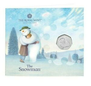 2020 Snowman BU 50p Coin Pack - Fifty Pence - In Stock Fast Dispatch