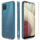 For Samsung Galaxy A12 Case Slim Clear Shockproof Phone Cover/Screen Protector