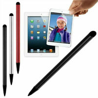 Fine Point Round Thin Tip Capacitive Stylus Pen For Smart Phone Tablet iPad NEW