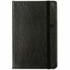 European Journal Bonded Leather C R Gibson Markings Black Book RULED Pages