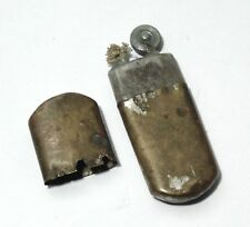 VINTAGE WW1 GERMANY ARMY 'GES. GESCH' TRENCH FIELD BRASS PETROL SMOKING LIGHTER