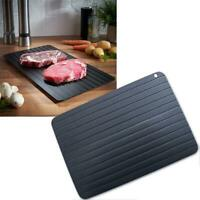 Quick Defrost Tray Rapid Thaw Plate Board for Defrosting Meat Frozen Food Metal