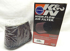 K&N PERFORMANCE 59-5050 Oval AIR FILTER MARINE FLAME ARRESTOR Fits GM 454 TBI