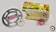Honda CBR1100 XX Blackbird 1997-07 DID Gold X-Ring Chain & JT Sprockets Kit Set