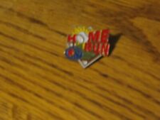 Home Run Little league baseball hat pin