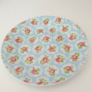 Cath Kidston Blue Provence Rose Side Plate Small Cottage Kitchen