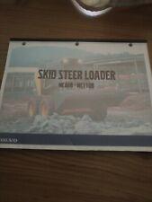 Volvo Mc60b Mc110b Skid Steer Loader Technical Training Manual