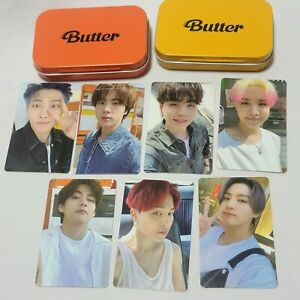 BTS Butter Album Official Photocard Weverse Pre-Order Benefit selfi gift