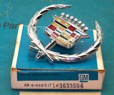 NOS 71 76 78 CADILLAC ELDORADO FLEETWOOD DEVILLE HOOD ORNAMENT EMBLEM GM