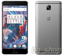 "OnePlus 3 Three Grey 64GB 6GB Ram 5.5"" 16MP Android Phone By Fedex"