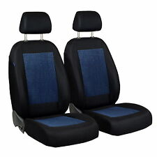 Blue/Black Velour Seat Covers for Renault Kangoo Car Seat Cover Front