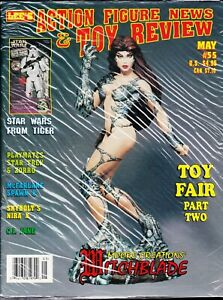 ACTION FIGURE NEWS AND TOY REVIEW MAGAZINE # 55 McFARLANE SPAWN WITCHBLADE FAIR