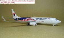 1/200 JC Wings Malaysia B737-8 9M-MXS XX2162 Diecast Model Metal Plane