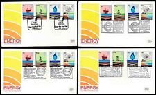 1978 energia FDC 4 SPECIAL Boxed Annulla... SPEEDWAY SEGAS Carbone nucleare a Dungeness