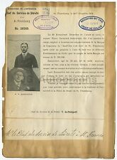 Wanted Sheets - 2 Vintage Wanted Sheets - 1 in French - St. Petersbourg - 1913