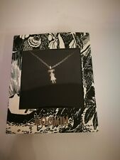 Moomin Snufkin Sterling Silver Pendant and necklace New in Gift Box