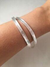 Tiffany & Co Sterling Silver 1837 Interlocking Bangle Bracelet. RRP 1150