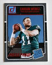CARSON WENTZ 2016 DONRUSS 💎 RED SP PRESS PROOF 💎 RATED ROOKIE PANINI EAGLES RC