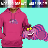 Cheshire Cat Smile Grin Disney Wonderland Pullover Sweatshirt Hoodie Sweater
