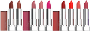 MAYBELLINE Color Sensational Creme Lipsticks - CHOOSE SHADE - NEW