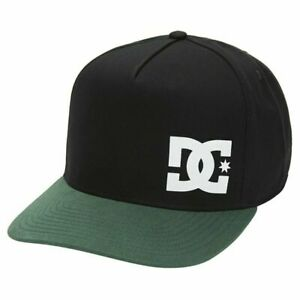 DC SHOES SKATE WHYNOTSS 211 SNAPBACK MENS CAP DARK GREEN  EDYHA03126 GSL0