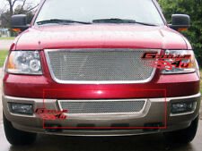 Fits 2003-2006 Ford Expedition Lower Bumper Stainless Mesh Grille