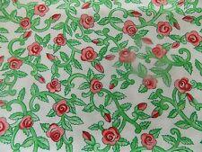 WtW Estate Fabric Floral Garden Catzilla Reiter ITB 2004 Flower 1 1/4+ yd Quilt