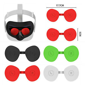 Silicone VR Lens Protector Cover Dustproof Sleeve For Oculus Quest 2 VR Glasses