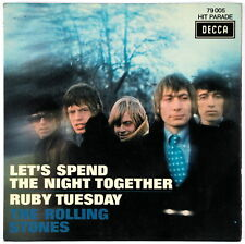 THE ROLLING STONES - Let's Spend The Night Together - 1967 France SP 45 tours