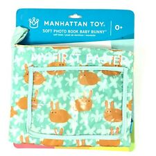 Manhattan Toy My First Easter Soft Photobook Baby Bunny