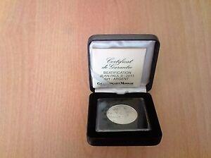 MÉDAILLE  BÉATIFICATION  JEAN-PAUL II , 2011 (argent ) Rare