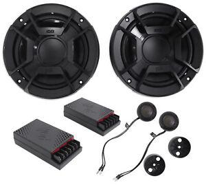 "(2) Polk Audio DB6502 6.5"" 600 Watt Component Car/Marine/ATV/Motorcycle Speakers"